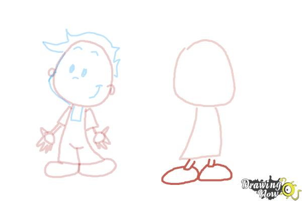 How to Draw Children - Step 7