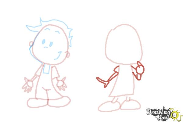 How to Draw Children - Step 8