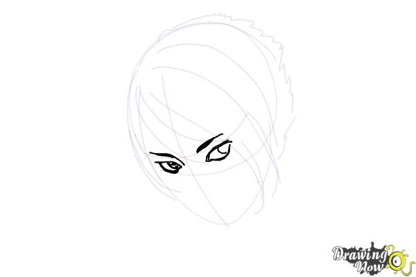 How to Draw an Emo Boy - Step 6