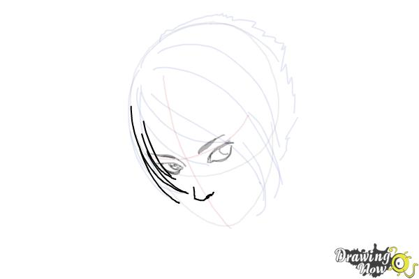 How to Draw an Emo Boy - Step 7