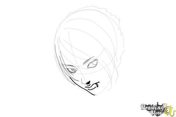 How to Draw an Emo Boy - Step 8