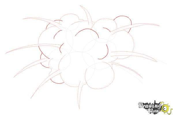 How to Draw an Explosion - Step 8