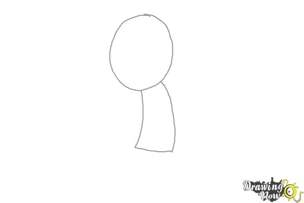 How to Draw Liam Payne Cartoon - Step 1