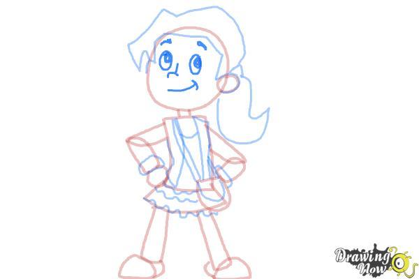how to draw girl cartoon eyes