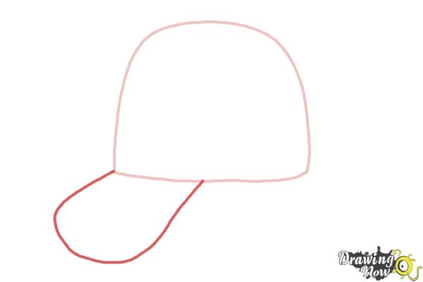 How to Draw a Hat - Step 2