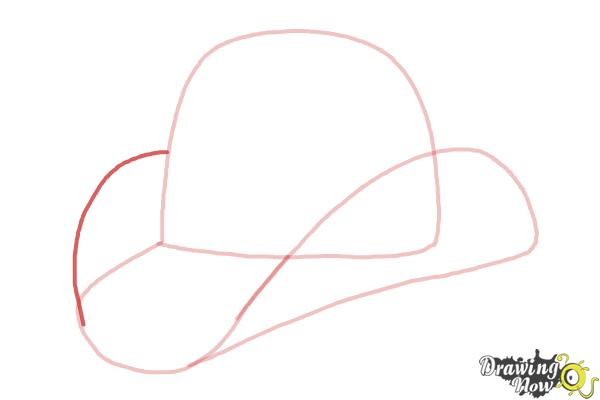 How to Draw a Hat - Step 4