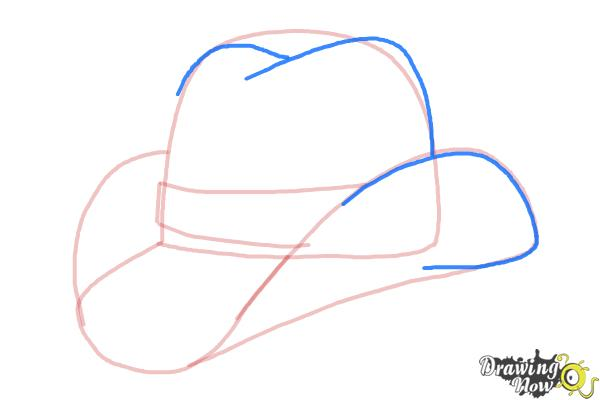 How to Draw a Hat - Step 6