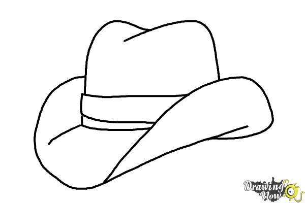 How to Draw a Hat - Step 8