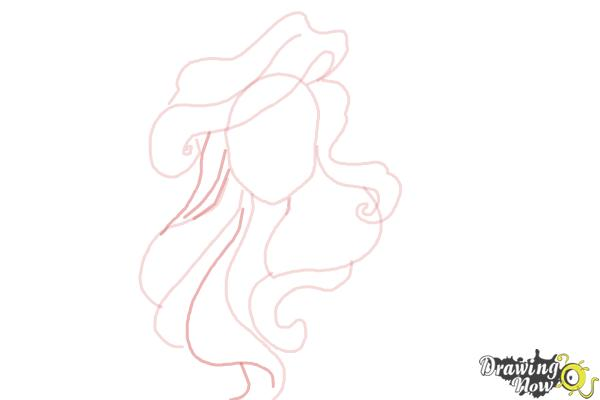 How to Draw Hair - Step 5