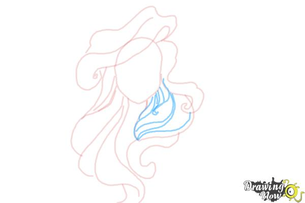 How to Draw Hair - Step 6