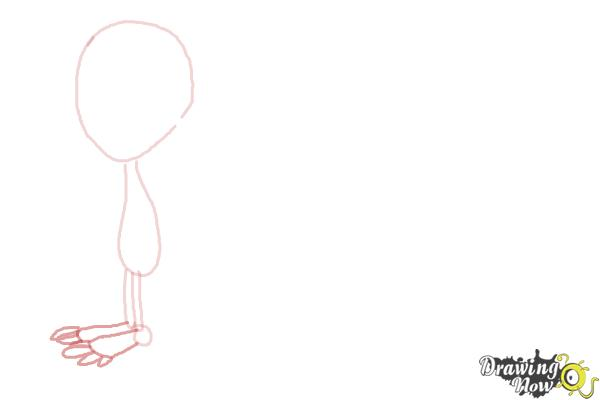 How to Draw Aliens - Step 3