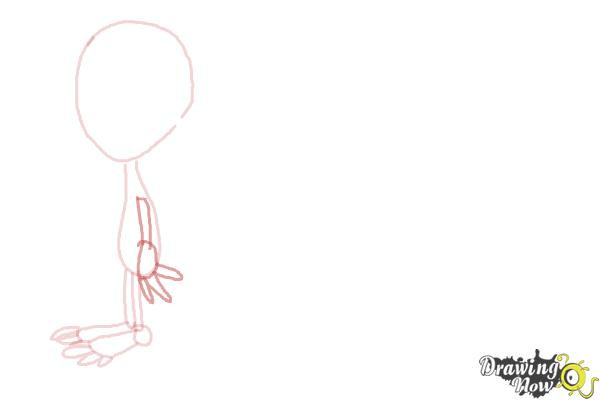 How to Draw Aliens - Step 4