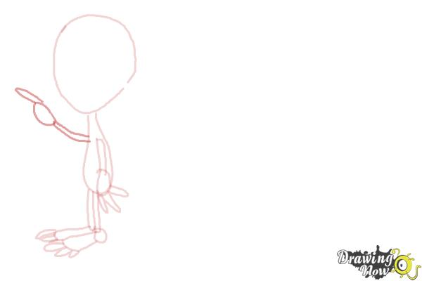 How to Draw Aliens - Step 5