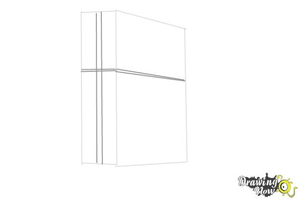 How to Draw Playstation 4, Ps4 - Step 3