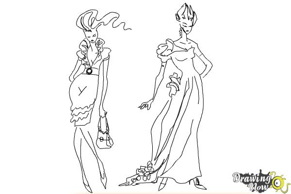 How To Draw Fashion Sketches Drawingnow
