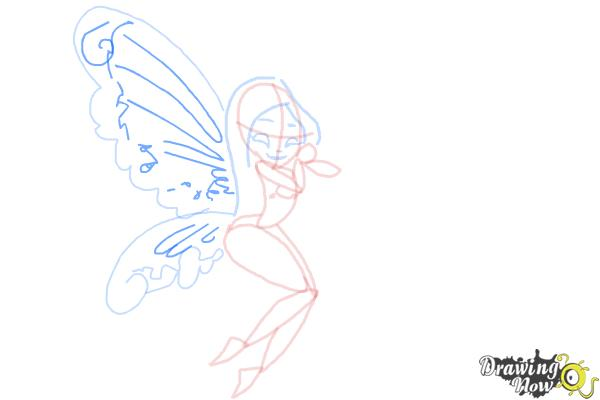 How to Draw Fairies - Step 10