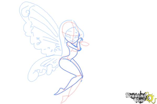 How to Draw Fairies - Step 11