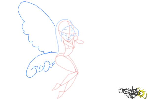 How to Draw Fairies - Step 9