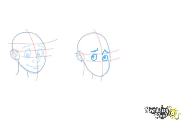 How to Draw Facial Expressions - Step 10