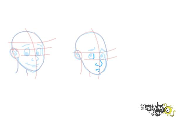 How to Draw Facial Expressions - Step 11