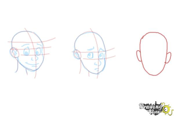 How to Draw Facial Expressions - Step 12