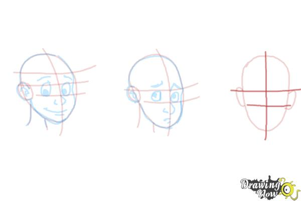 How to Draw Facial Expressions - Step 13