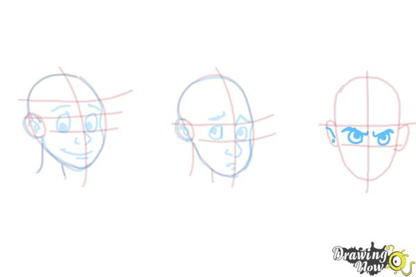 How to Draw Facial Expressions - Step 14