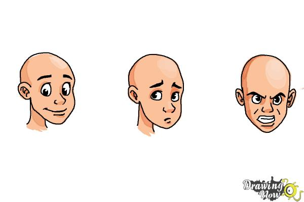 How to Draw Facial Expressions - Step 18