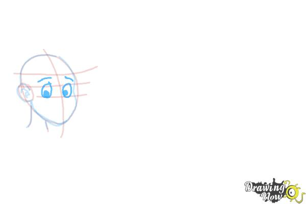 How to Draw Facial Expressions - Step 5