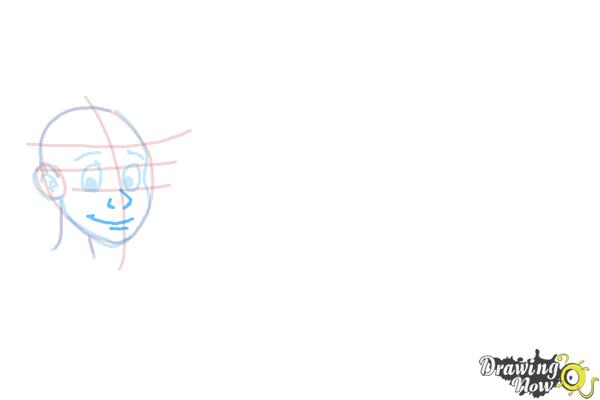 How to Draw Facial Expressions - Step 6