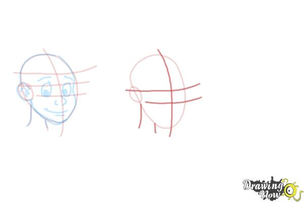 How to Draw Facial Expressions - Step 8