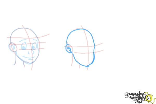 How to Draw Facial Expressions - Step 9