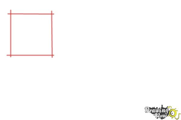 How to Draw Geometric Shapes - Step 1