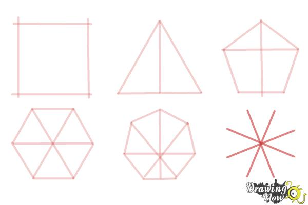 How to Draw Geometric Shapes - Step 10