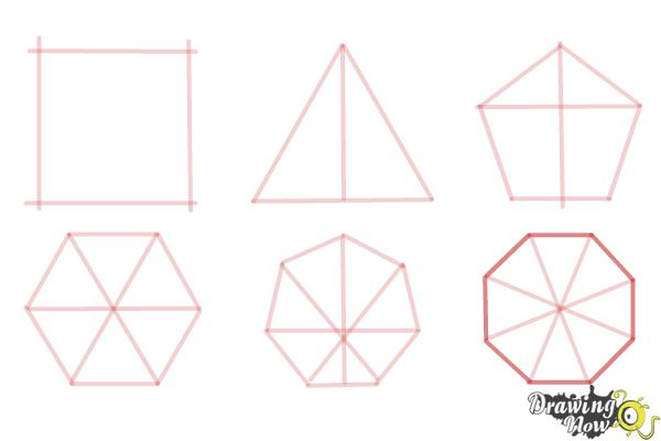 How to Draw Geometric Shapes - Step 11