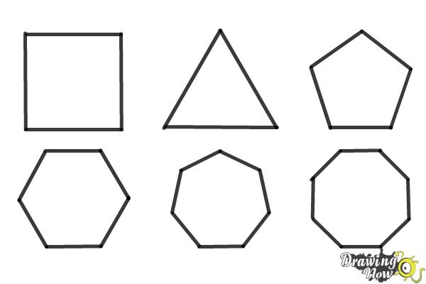 How to Draw Geometric Shapes - Step 12