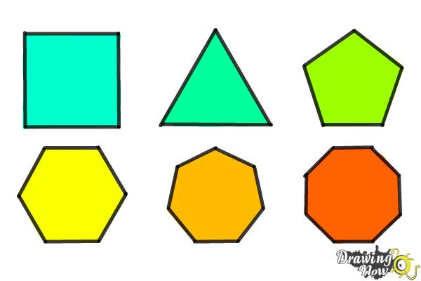 How to Draw Geometric Shapes - Step 13