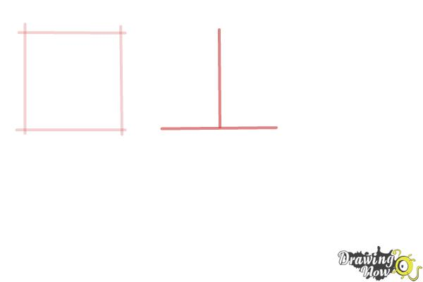 How to Draw Geometric Shapes - Step 2