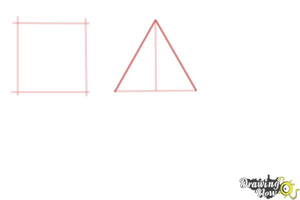 How to Draw Geometric Shapes - Step 3