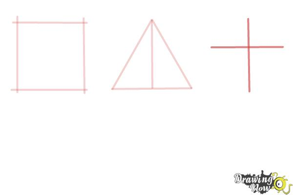 How to Draw Geometric Shapes - Step 4