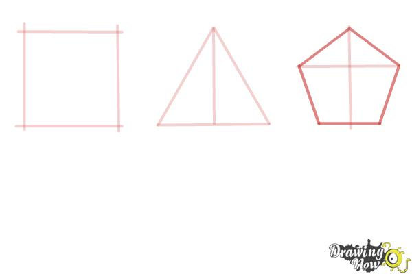 How to Draw Geometric Shapes - Step 5