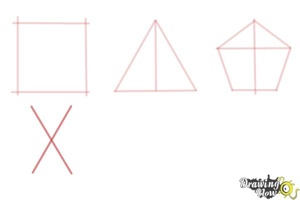 How to Draw Geometric Shapes - Step 6