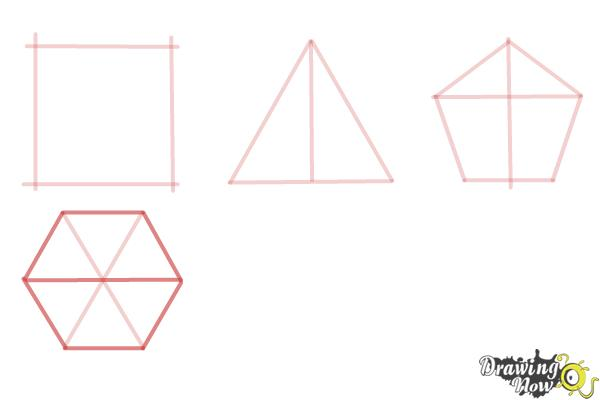How to Draw Geometric Shapes - Step 7