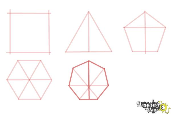How to Draw Geometric Shapes - Step 9
