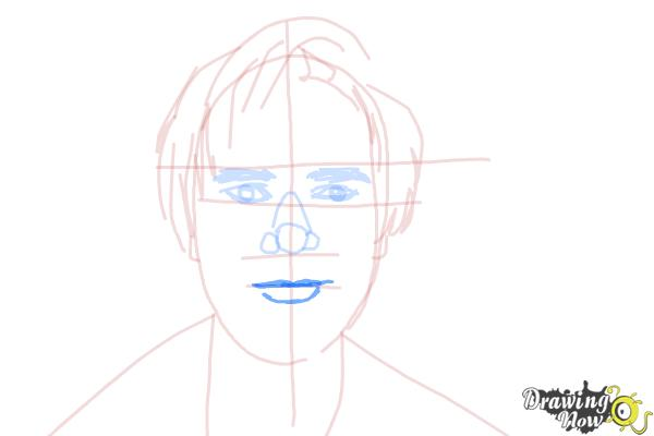 How to Draw Pewdiepie - Step 10