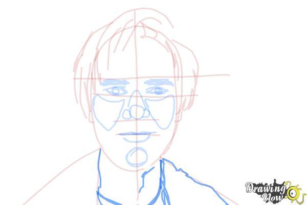 How to Draw Pewdiepie - Step 12