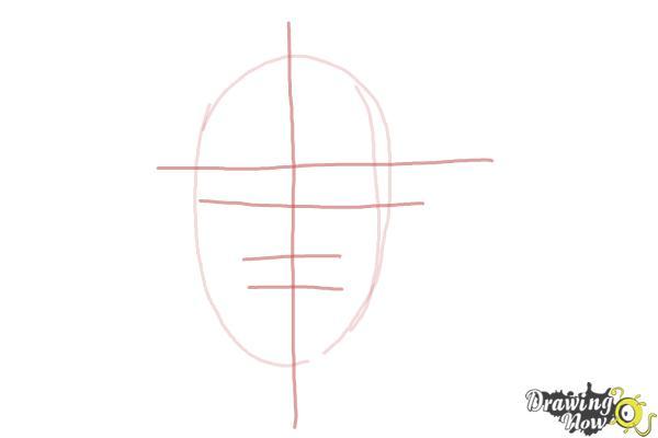How to Draw Pewdiepie - Step 2