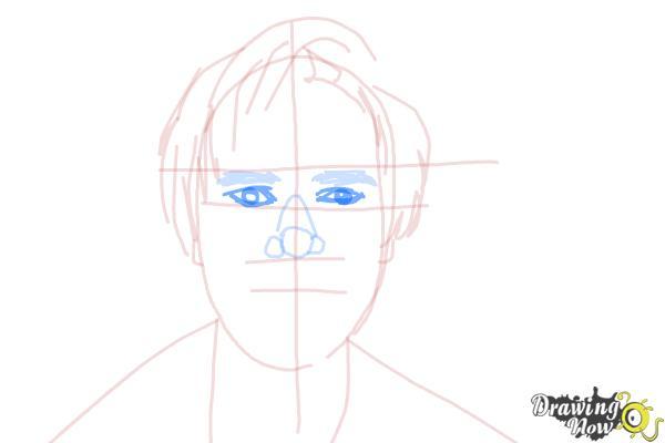 How to Draw Pewdiepie - Step 9