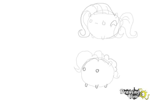How to Draw My Little Pony Characters, Kawaii - Step 10