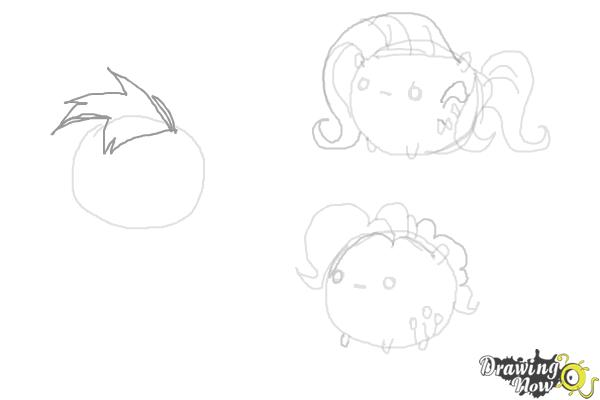 How to Draw My Little Pony Characters, Kawaii - Step 13